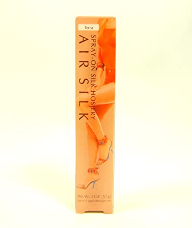 42dacae82 Image Unavailable. Image not available for. Color  Air Stocking Spray-on Silk  Hosiery Terra 2 Oz (57g)
