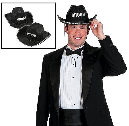 9ded296918c Groom Cowboy Hat - Western Groom s Hat  Amazon.co.uk  Kitchen   Home