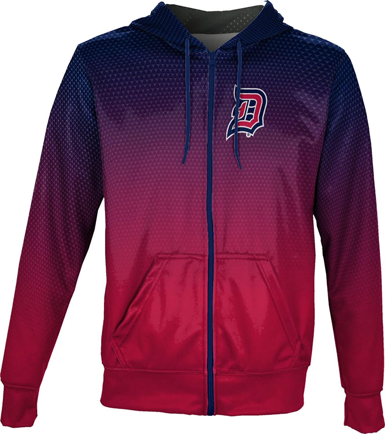 ProSphere Duquesne University Mens Fullzip Hoodie Digital