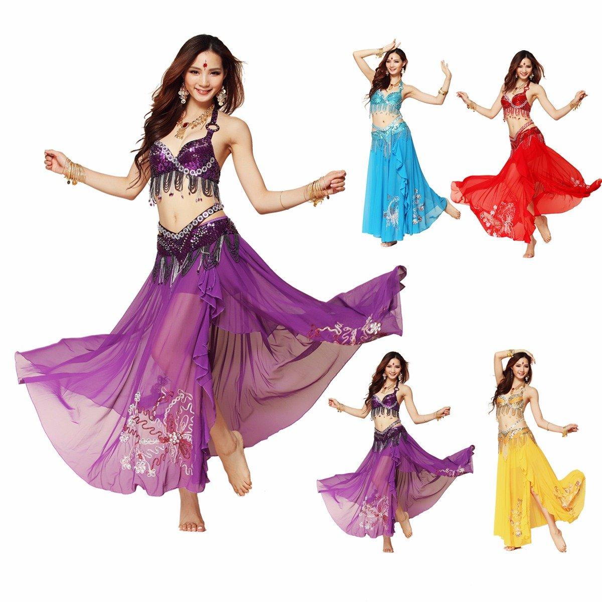 Best Dance - Disfraz de danza del vientre para mujer, estilo tribu ...