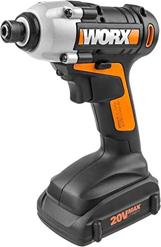 WX290L WORX 20V MaxLithium Cordless Impact Driver, Battery Charger Included