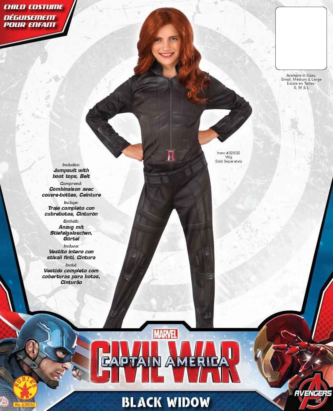 Amazon.com: Disfraz de Viuda Negra de la película ...