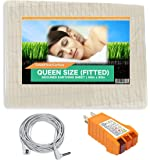 Earthing Sheets Queen Size Fitted; Earthing Bedding Sheets, Grounding Sheet
