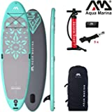 Aqua Marina DHYANA 2019 Yoga SUP Board Inflatable Stand Up Paddle Surfboard 336x91x12cm