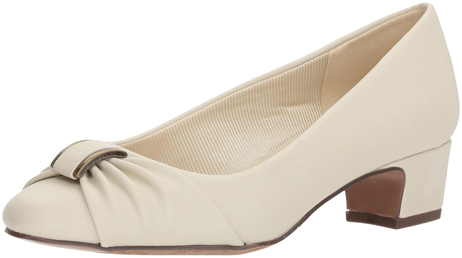 Easy Street Women's Eloise Pump B077ZL5F1G 6.5 W US|Bone