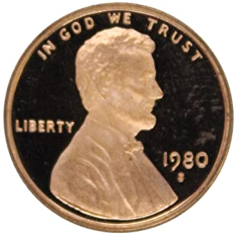 1980 S Lincoln Cent Deep Cameo Gem Proof