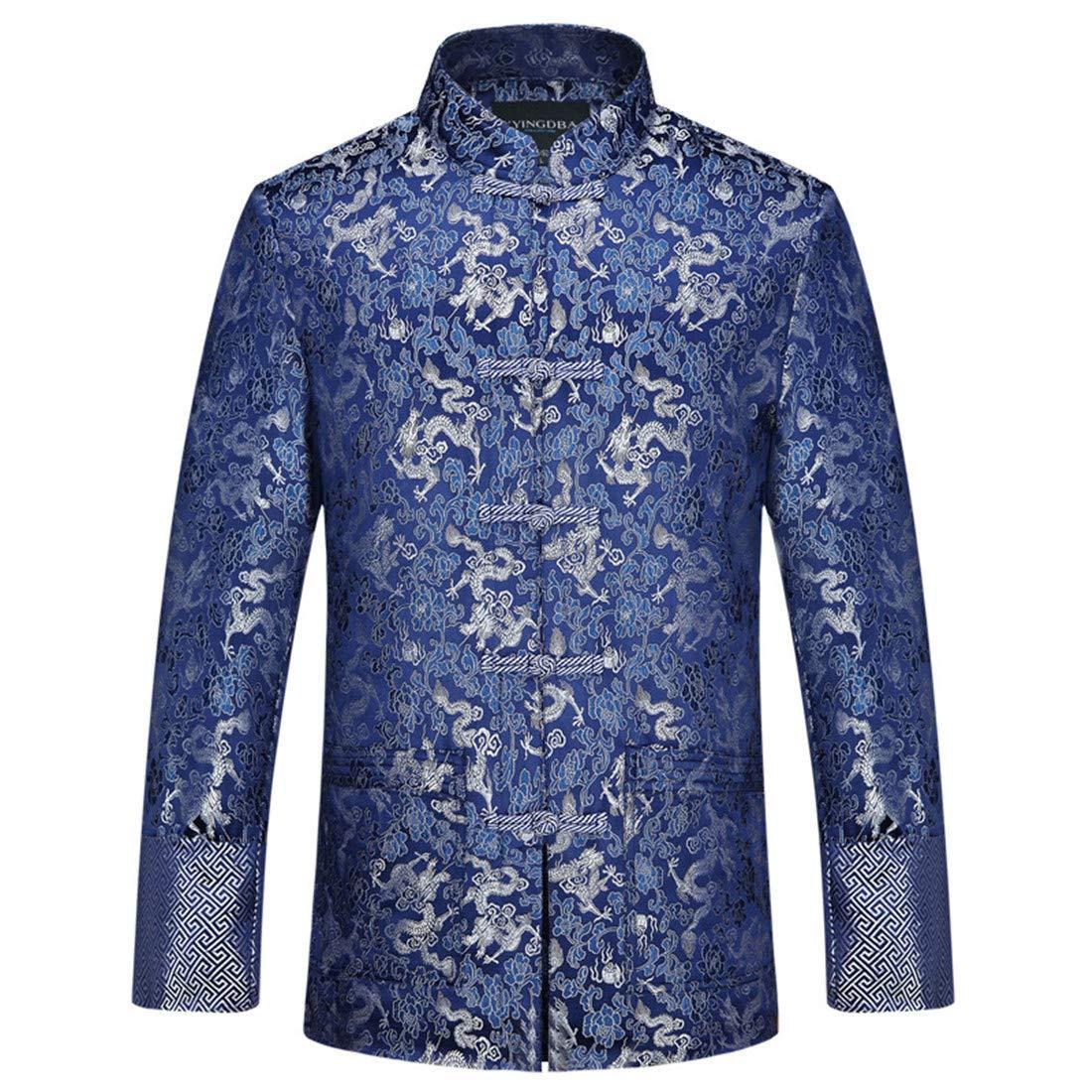CAI&HONG-Domestics GCC Herren Tunika, Tang Anzug, Mantel
