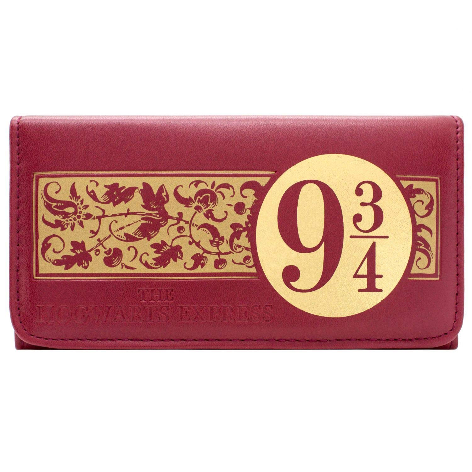 Harry Potter Hogwarts Express 9 3//4 Rouge Portefeuille
