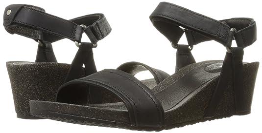 0d25aef152f5 Amazon.com   Teva Women's W Ysidro Stitch Wedge Sandal   Platforms & Wedges