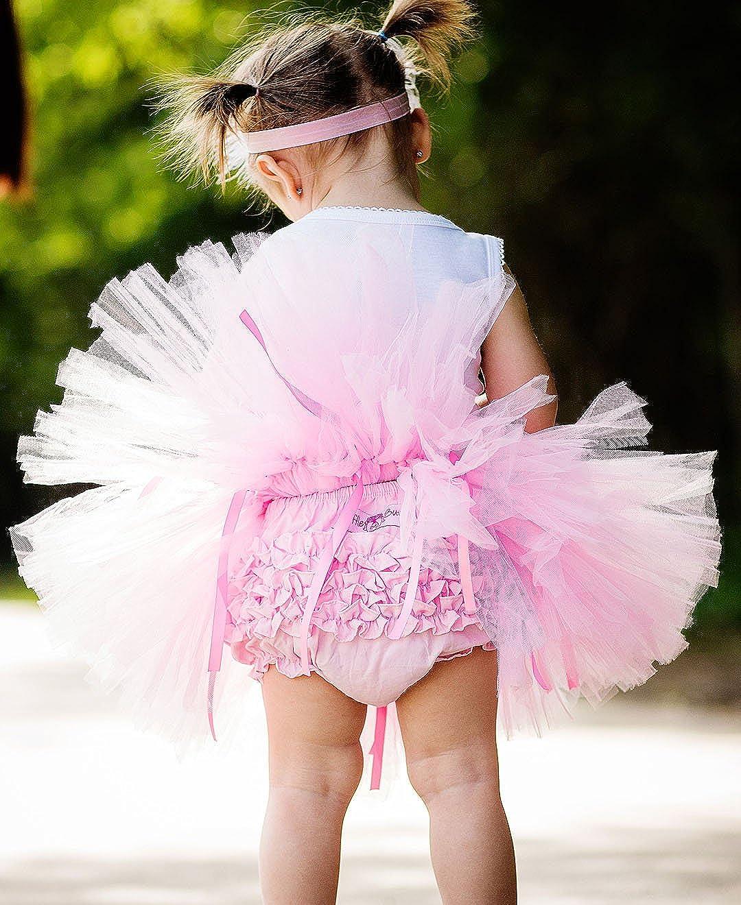 RuffleButts Baby//Toddler Girls Organza Tutu SKTYYXX-TUTU-SC-BABY