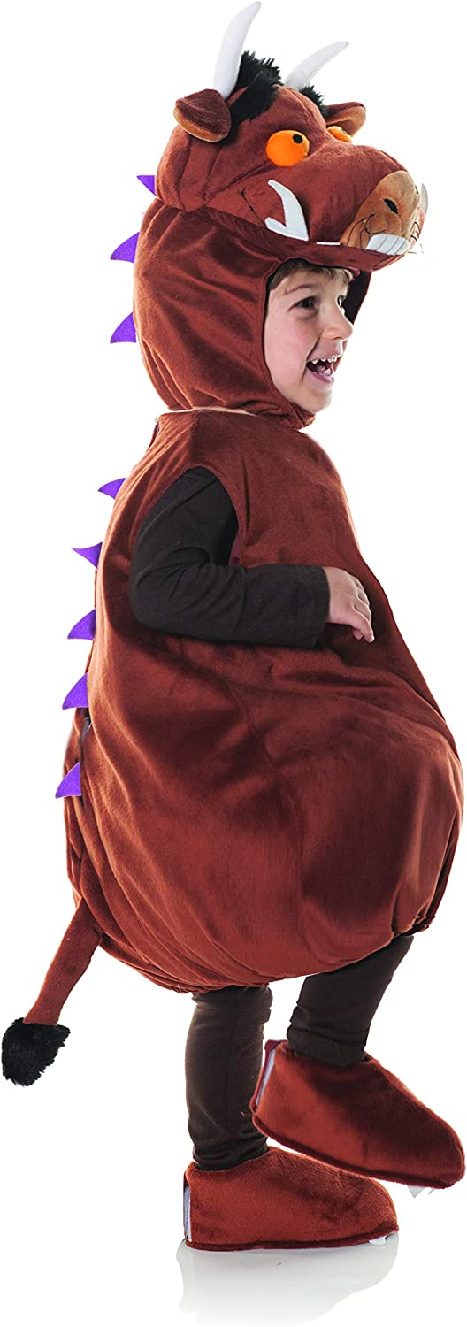 Brown 2-4t Large UNDERWRAPS Gruffalo Belly Babies Toddler Costume
