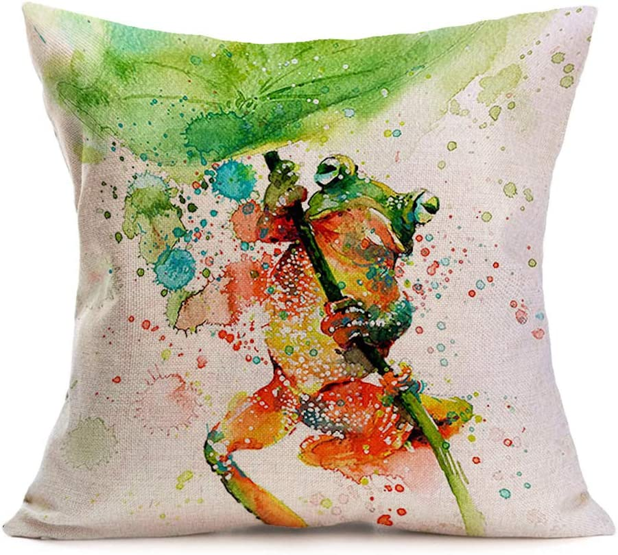 I Love Frogs Pillowcase