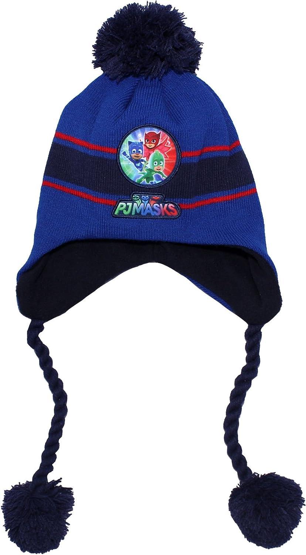 PJ Masks Kids Winter Snow Bobble Tie Hat