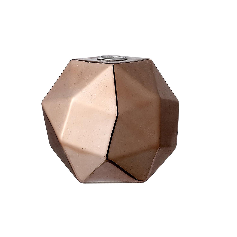 Bloomingville Bougeoir cuivre façon diamant