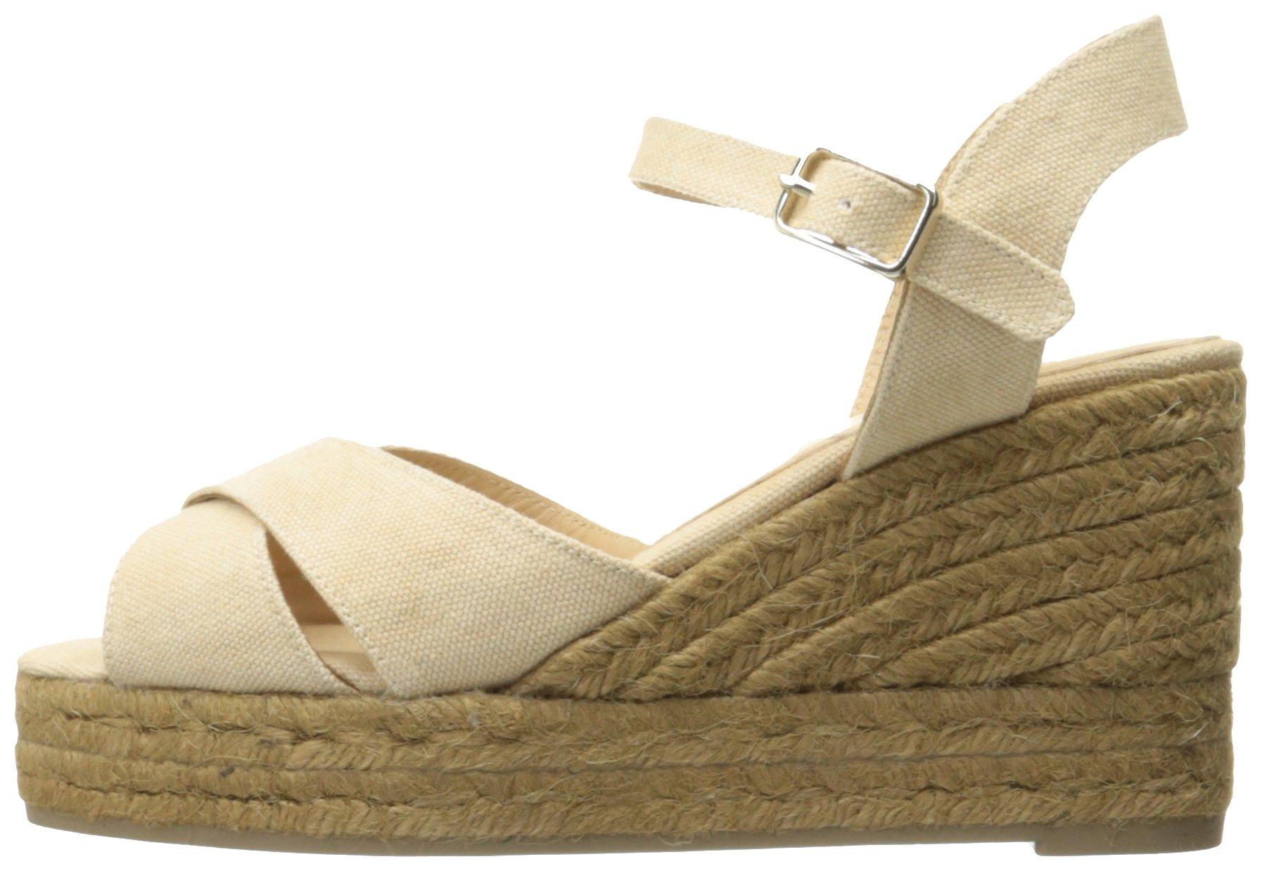 Castaner Women's Blaudell Platform Sandal, Nude (Beige), 37 EU/6.5 N US by Castaner (Image #5)
