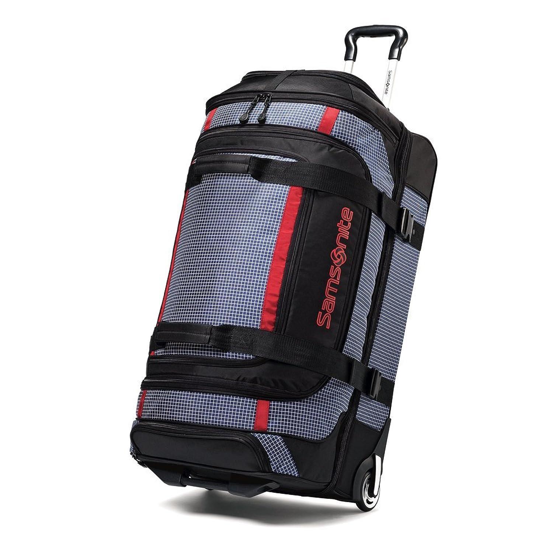 Amazon.com | Samsonite Luggage Ripstop Wheeled Duffel, Blue, 30 ...