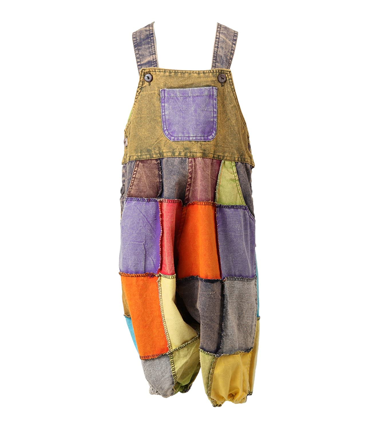 The Hippy Clothing Co. Kids Harem Dungarees