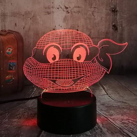 Luz De Noche Lámpara Ilusión Figura Adolescente Mutante ...