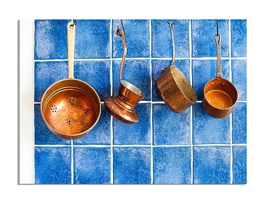 deinebilder24 Mural XXL Vintage Cocina Dispositivos, Cobre ...