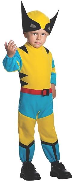Disfraz de pequeño Lobezno Marvel para niño: Amazon.es: Ropa y ...