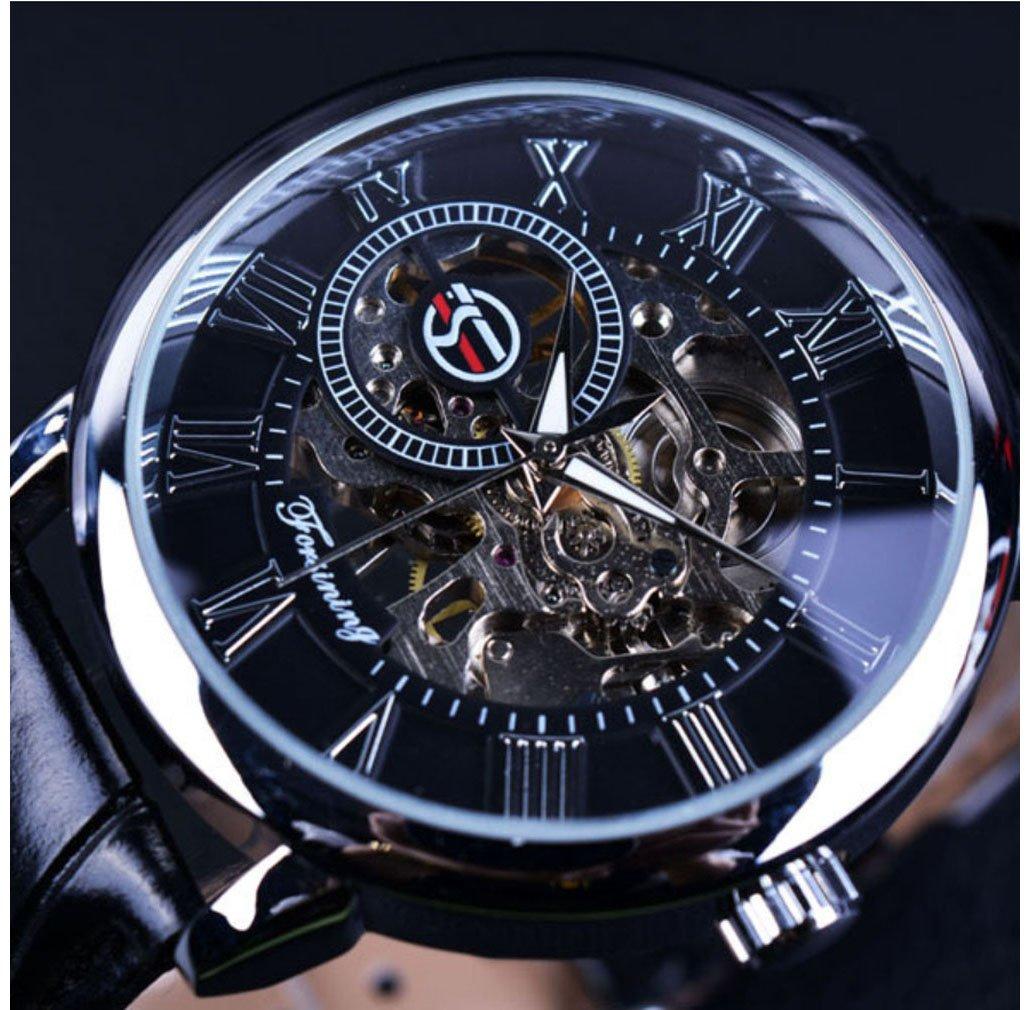 Reloj de pulsera mecánico estilo clásico