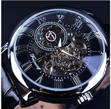 """Reloj de pulsera mecánico estilo clásico """"Steampunk Bling"""" de Forsining, estilo con"""
