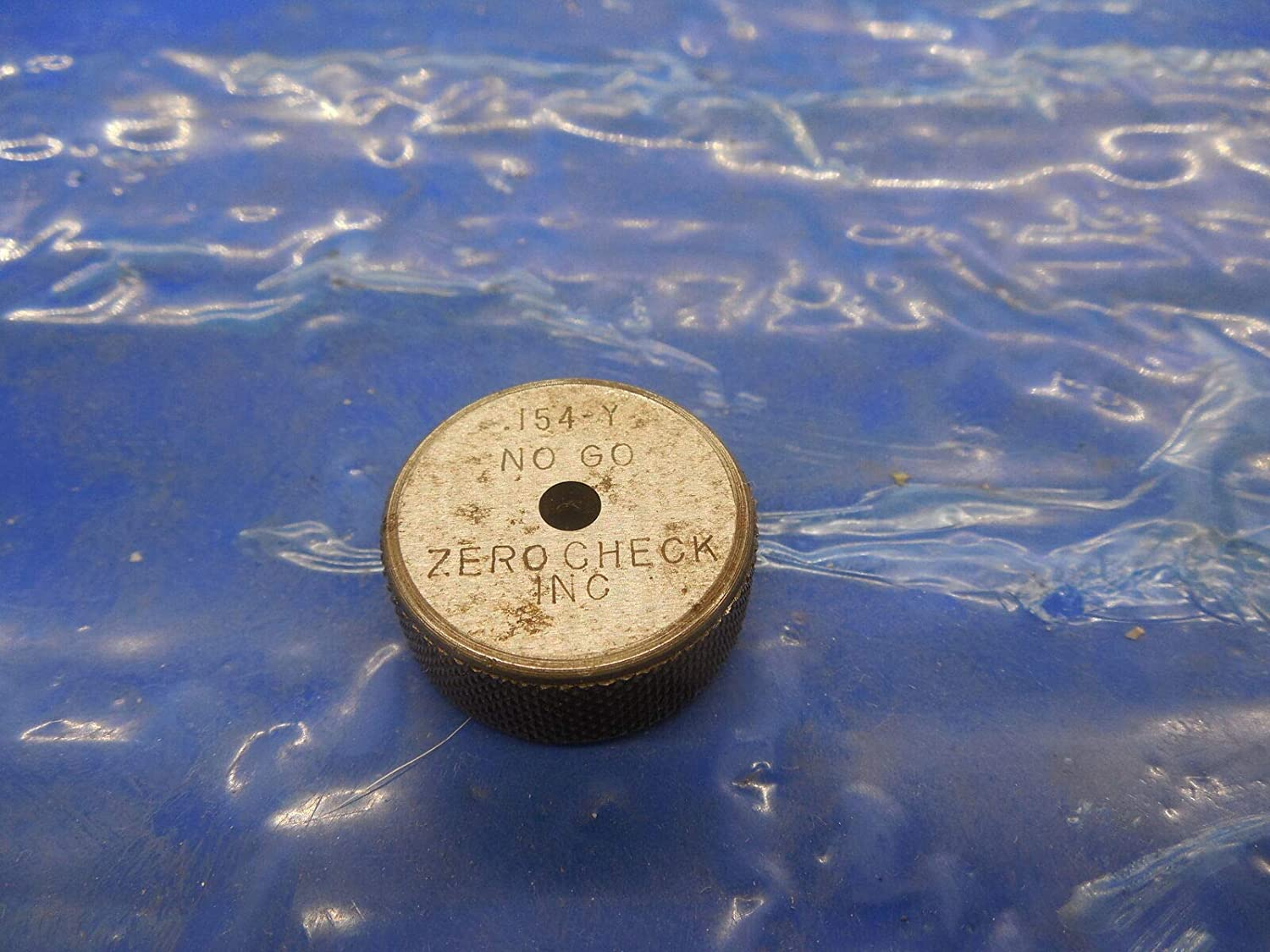 .0023 Undersize 5//32 3.912 .154 .1540 Class Y Master Plain BORE Ring GAGE .1563