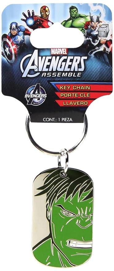Plasticolor 004338R01 Marvel Hulk Metal Keychain