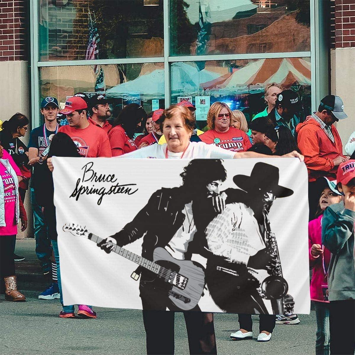 Clfheruifdfjn Bruce Springsteen E Street Band Funny Indoor//Outdoor Flag Banner 3x5 Feet