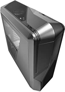 NZXT Phantom 410 Mid Tower Computer Case, Gunmetal with Black Trim (CA-PH410-G1)