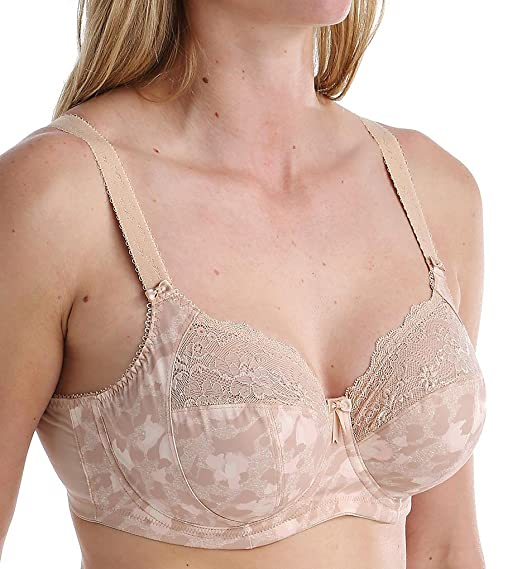 77e9a87b63b2f Morgan Underwired Banded Stretch Full Cup Non Padded Supportive Bra  Elomi   Amazon.co.uk  Clothing
