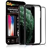 OAproda iPhone 11 pro ガラスフィルム 全面保護 強化ガラス【ガイド枠付き】 アイフォン11 Pro(2019)5.8インチ専用 フィルム