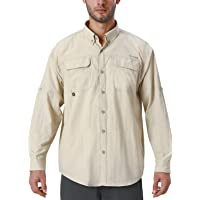 NAVISKIN Camisa Casual de Manga Larga Protección UV