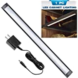 Under Cabinet Lighting,Touch On/Off Function,3000K Warm White Kitchen Cabinet Lighting, 33 LED Light Bar for Wardrobe,Closet,Shelf, Under Counter Lighting(1 PACK)