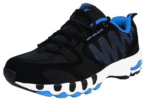 iLoveSIA Zapatos de Running Cómodos para Hombre Negro+Rojo 41 EU UiUYXyw