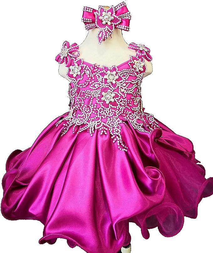 Jenniferwu Infant//toddler//kids//baby//children Girl/'s Pageant//prom Dress EB1211D
