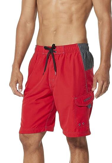 9afcaa5325 Amazon.com: Speedo Men's Marina Sport Volley Shorts: Clothing