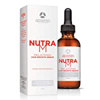 NutraM Hair Regrowth Serum for Thinning Hair for Men and Women - Topical DHT Blocker...