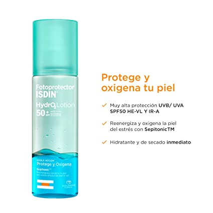 Fotoprotector ISDIN HydroLotion SPF50+   Protector Solar Corporal ...