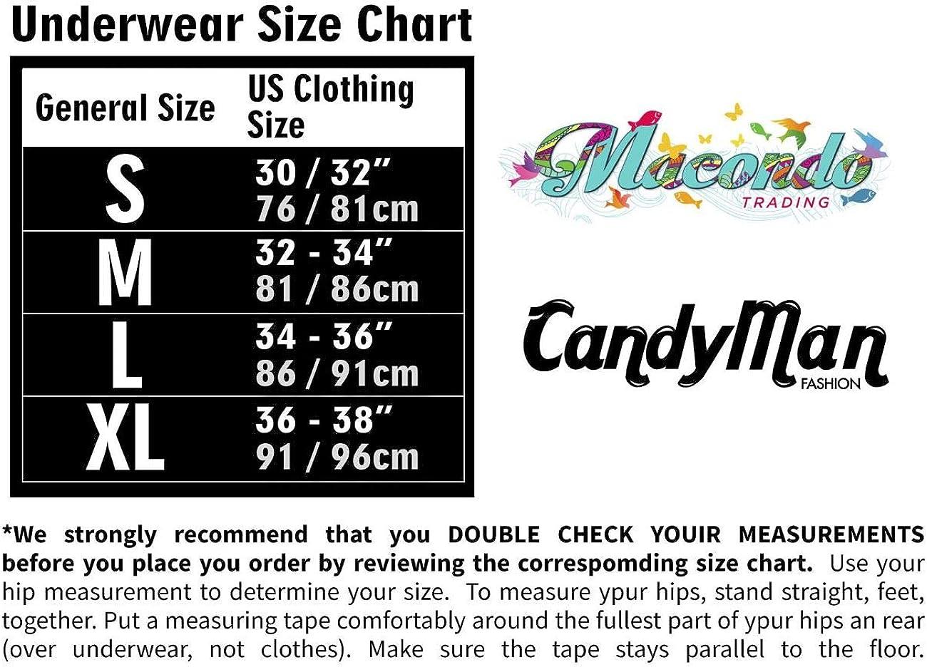 CandyMan 99403 Stripes Gaterbelt Thongs