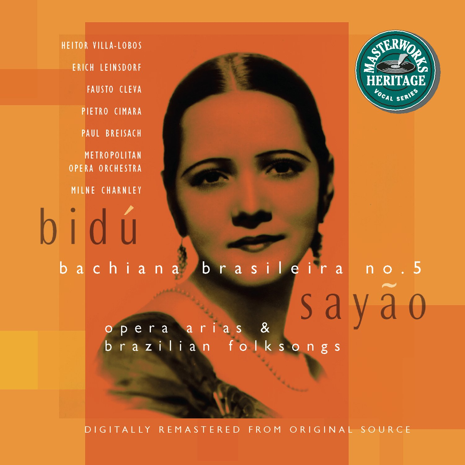 Bidu Recommended Sayao: Opera Arias Folksongs and All items in the store Brazilian