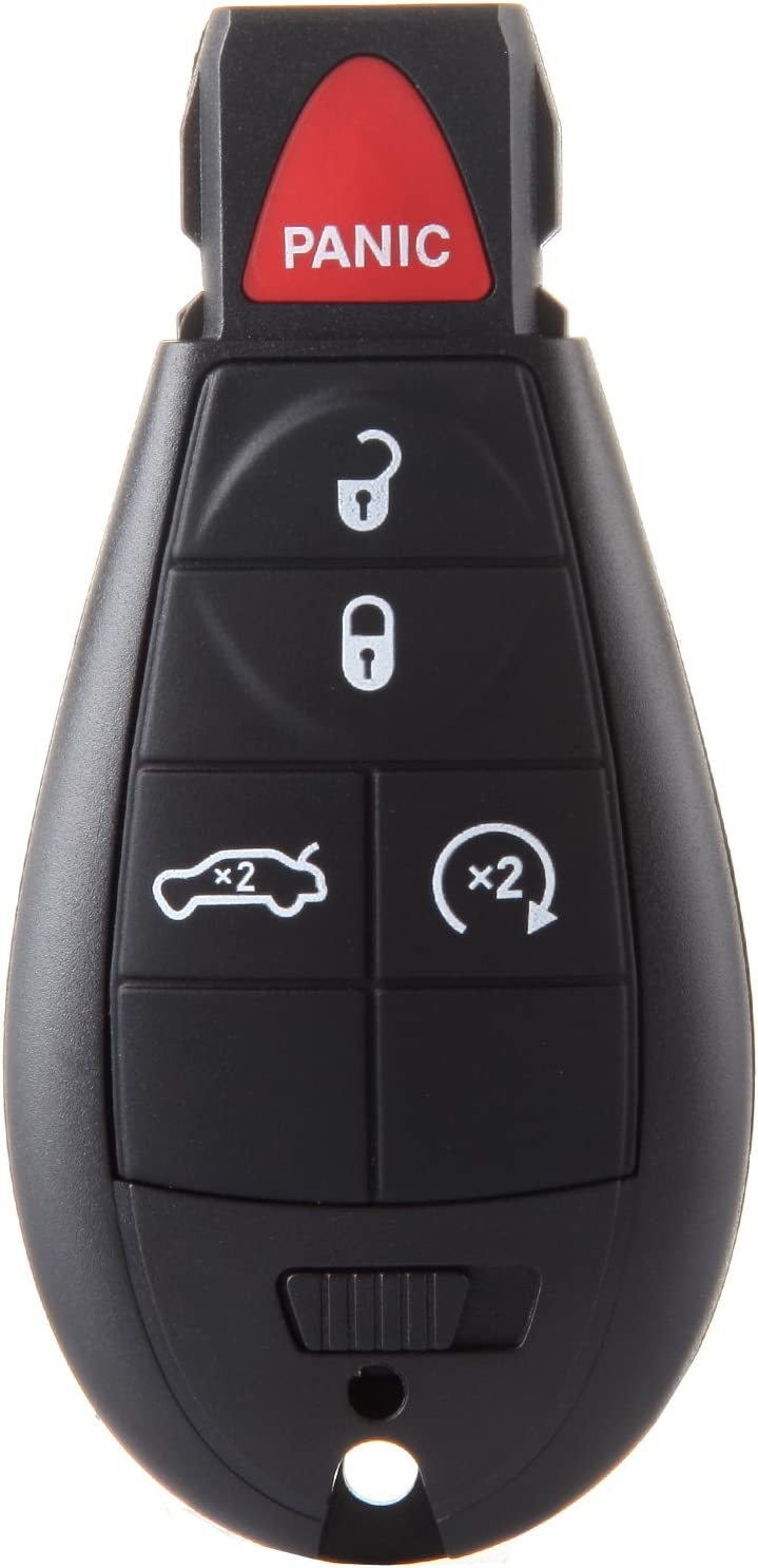 Chrysler 300 Town /& Country, Dodge Magnum Charger Challenger Durango Grand Caravan Ram 1500 2500 3500 4500 SCITOO Replacement fit for 1X 3 Button Uncut Keyless Entry Option M3N5WY783X IYZ-C01C