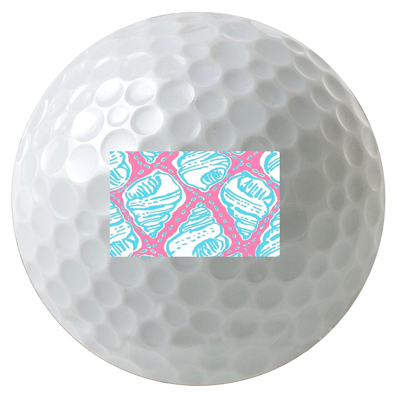 【史上最も激安】 パステルシェル壁紙パターン3 B01G0QUI18 - - Pack Pack Printedゴルフボール B01G0QUI18, 極(きわみ)宝石職人直売所:e4e7a7d4 --- senas.4x4.lt