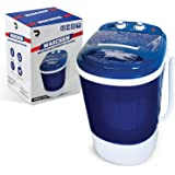 Portable Single Tub Washer And Spin Dryer- The Laundry Alternative- Mini Washing Machine- Portable Clothes Washer And…