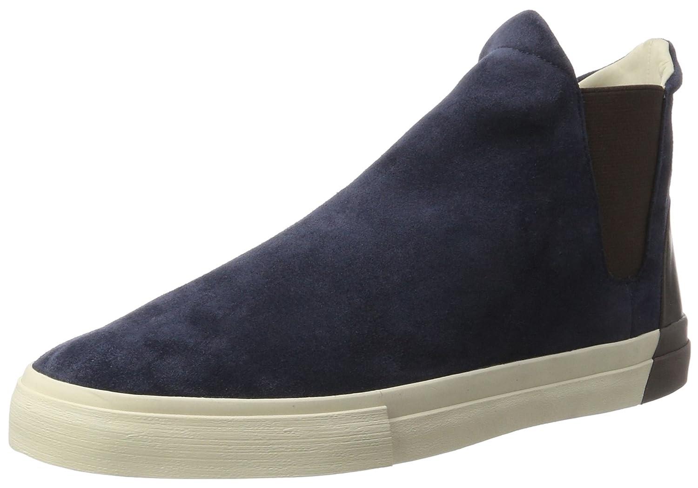 Marc O'Polo Flat Heel Chelsea 70723785001301, Zapatillas Altas para Hombre 43 EU|Azul (Dark Blue)