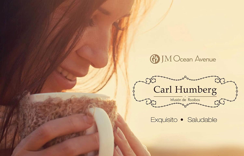 Carl Humberg. Te de Rooibos. Exquisito, Saludable. Libre de cafeina, rico en antioxidantes: Amazon.es: Hogar