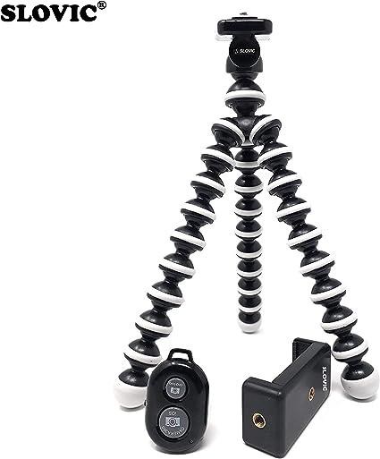 SICHER Gorilla - Mini trípode para cámara de Fotos y cámara réflex ...