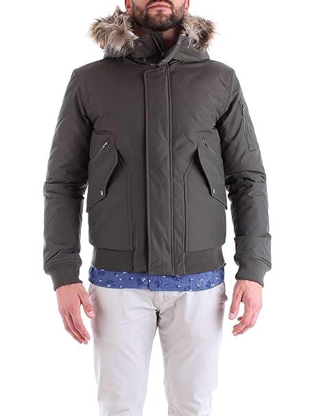 Chaqueta Verde Penn-Rich Woolrich Uniform Bomber XL: Amazon ...