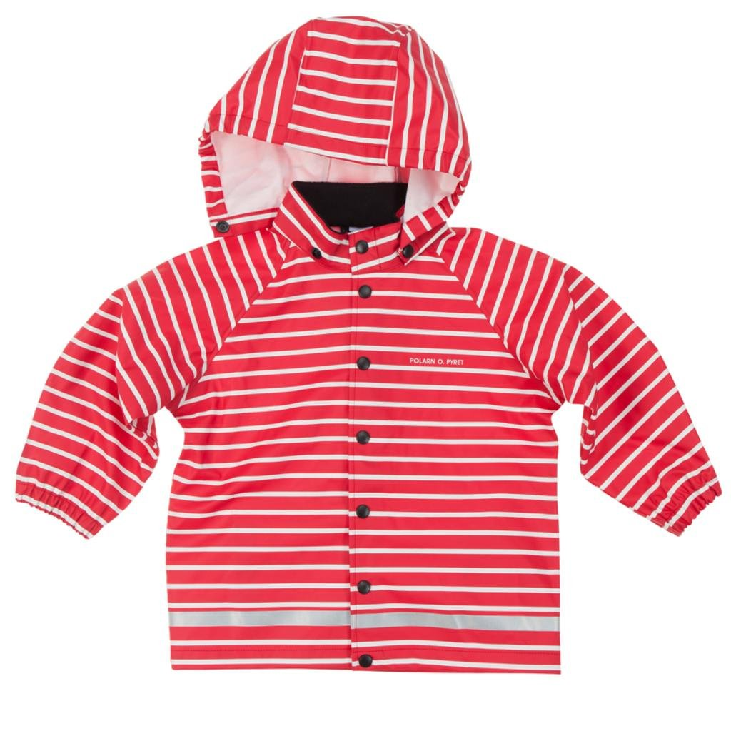 Polarn O. Pyret Classic Stripe RAIN Jacket (2-6YRS)