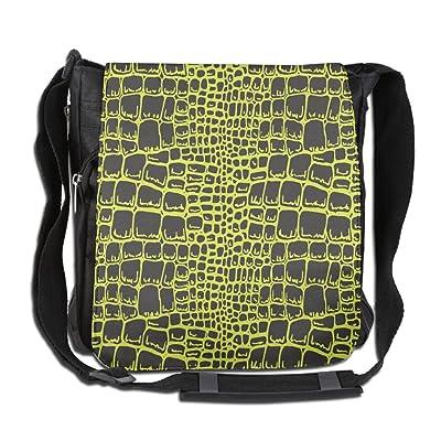 Animal Alligator Skin Texture Fashion Print Diagonal Single Shoulder Bag